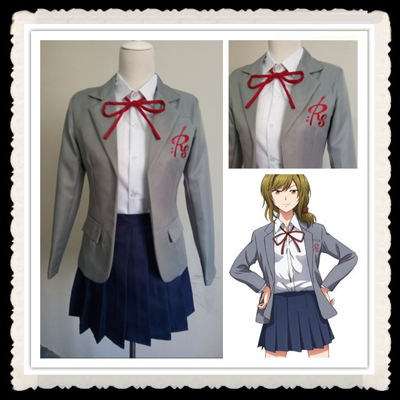 Gangan Online Yuzuki Seo Costume For Kids Anime Cosplay Clothes Plus
