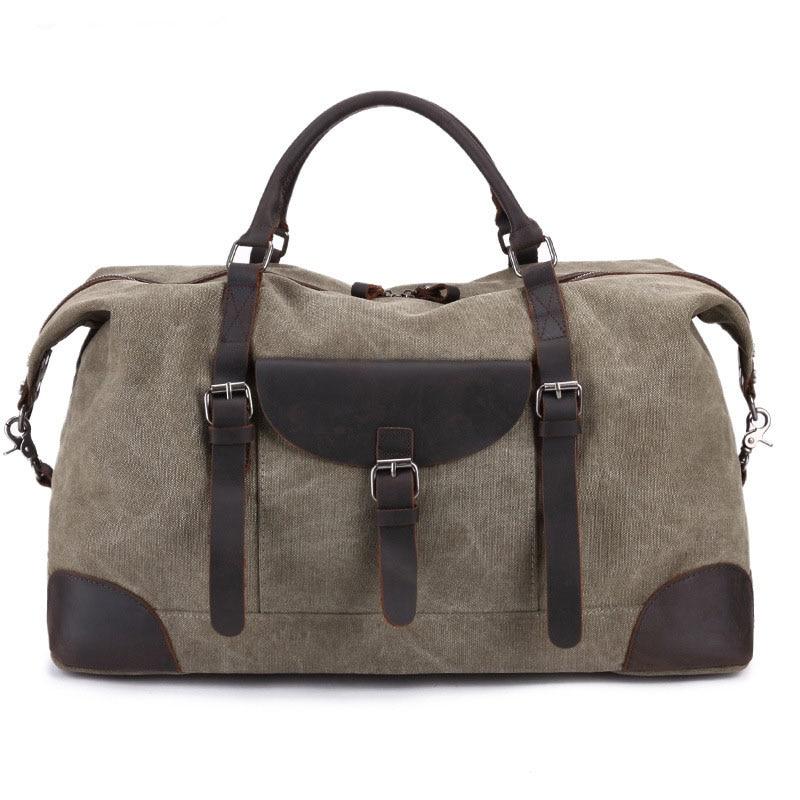 2018new high quality Casual fashion male canvas travel bags Duffle bag Pure color large capacity men handbag casual canvas satchel men sling bag