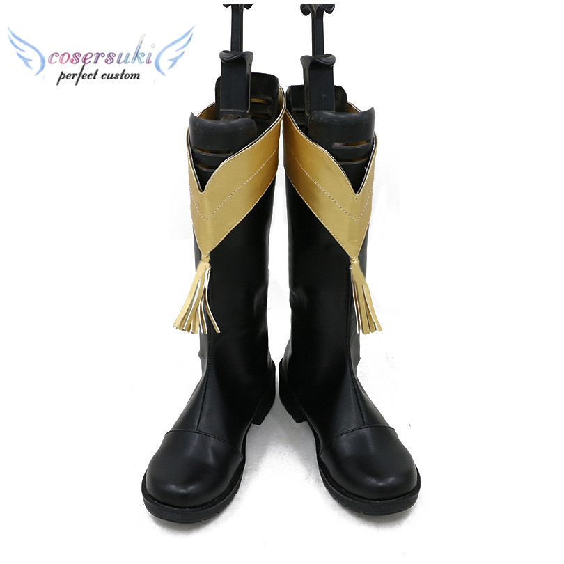 Revue Starlight Maya Tendo Cosplay Shoes Boots Professional Handmade Perfect Custom for You
