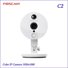 Foscam C2 HD 1080P WiFi Security IP Camera with iOS/Android App Super Wide 120 Viewing Angle Night Vision Up to 26ft