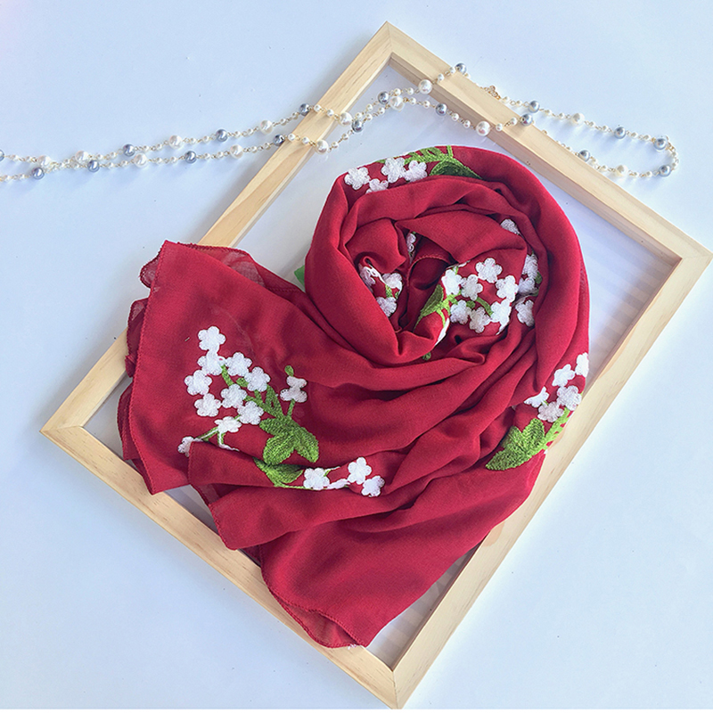 7075cb77924f8 View Offer. Tags: marte, joven, solid, floral, embroidery, scarf, pashmina,  women, fashion ...