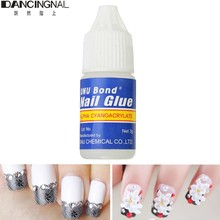 1 Pcs Glue Use For Rhinestones Stickers False Tips Nails Decoration Acrylic  Beauty 3G c204e892c8d4