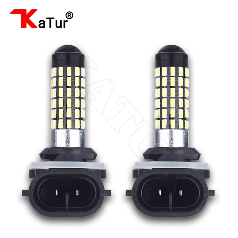 2 Pieces H27 881 Led Bulb For Cars H27W/2 H27W2