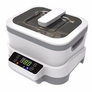 Image 2 - Limpiador ultrasónico Digital para joyería y relojes, con cestas, limpiador Dental de 1,2 L, 70W, 40kHz, 220V/110V, ultrasónico para Baño