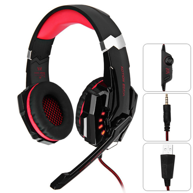 Kotion Each G9000 Gaming Headphone 35mm Game Headset Headband For