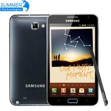 """Оригинальный разблокирована Samsung Galaxy Note N7000 i9220 сотовые телефоны 8MP 5.3 """"Dual-Core Восстановленное мобильного телефона русский нескольких Язык"""