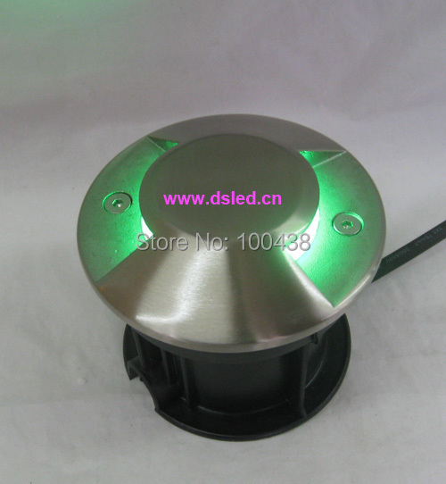 Free shipping by DHL !! Stainless steel,Anti glare,High power 3W LED inground light,undergruond LED light,3X1W,110-250VAC,IP67Free shipping by DHL !! Stainless steel,Anti glare,High power 3W LED inground light,undergruond LED light,3X1W,110-250VAC,IP67