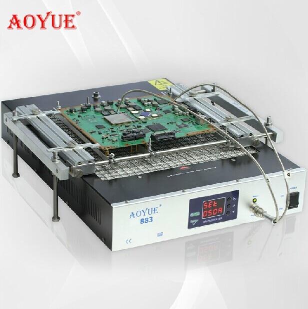 AOYUE Solder Station 110V/220V AOYUE 883 IR Table Preheater Reball Reflow Station Quartz heating plate 300*300 1500W