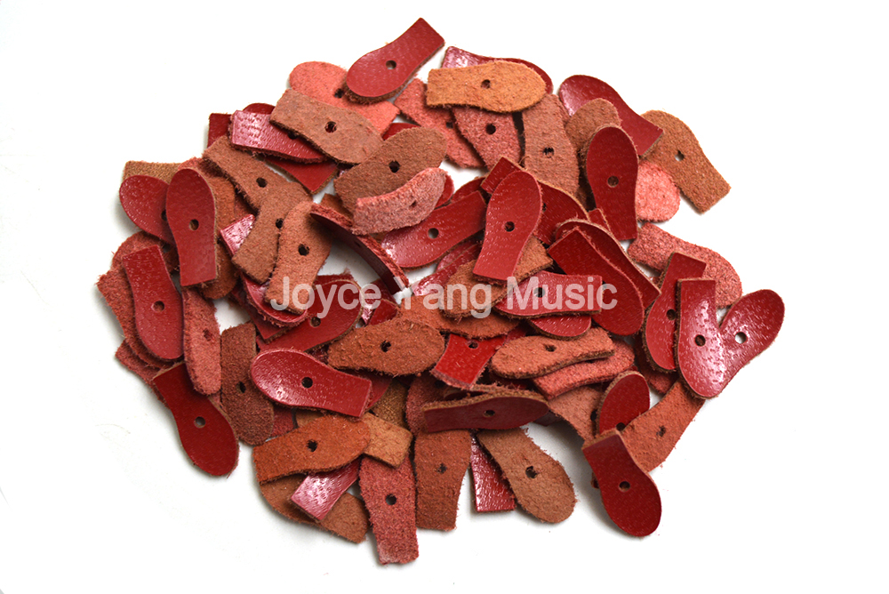 Piano Tuning Tool Piano Accessories 90pcs Upright Piano Bridle Strap Red Fabrilite Tips Leather Head Free Shipping
