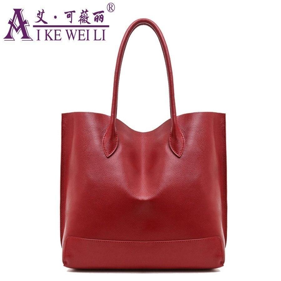 2017 Women's  Beautiful Handbag Genuine Leather Bag For Women Fashion Bag Cowhide Large Capacity Messenger Bag beautiful darkness