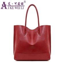 2017 Women's  Beautiful Handbag Genuine Leather Bag For Women Fashion Bag Cowhide Large Capacity Messenger Bag