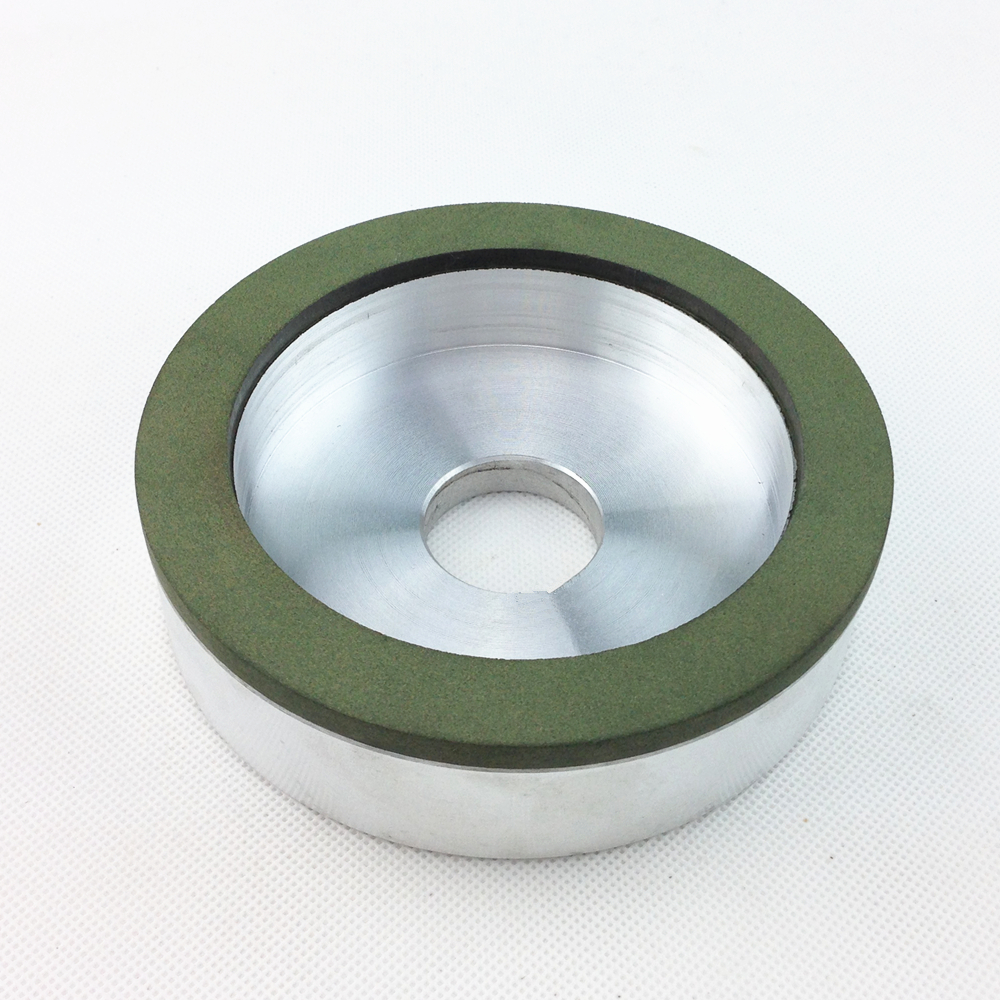 Concentration: 75%. Diamond grinding wheel, cup wheels, resin wheel, alloy wheels 125 * 32 * 15 * 3 4 inch 6 inch straight cup diamond grinding wheel for glass edger straight line double edging beveling machine m009