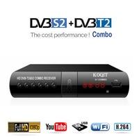Digital DVB T2 S2 Combo Free Internet IPTV Satellite Receiver Terrestrial Digital TV Box DVB T2 Playback Receptor Tuner Youtube