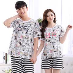 Пары пижамы Для женщин пижамы детские пижамные комплекты с героями мультфильмов из хлопка Pijama Hombre masculino пижамы Для мужчин пижамы полосатый