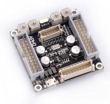 Adau1701 dsp mainboard + placa de interface de áudio profissional unidade de processamento digital dsp pre amp tone placa de controle de volume