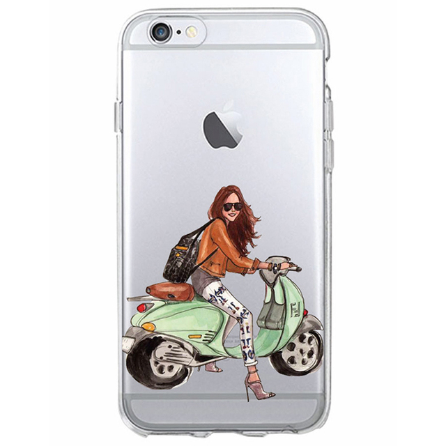 iPhone Classy Paris Girl Summer Legs Travel Relax Beach Phone Case cover for iPhone  5, SE, 5s, 6 Plus, 6 , 6s, 6s plus, 7, 7 Plus, 8, 8 Plus, X, XR , XS, XS MAX