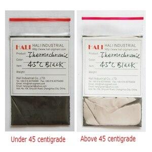 Image 2 - heat sensitive pigment, temperature sensitive pigment,thermochromic powder, black,1kg a bag