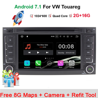 HD 1024 600 7 Inch 2 Din In Dash Quad Core Android 7 1 1 Car