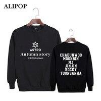 Alipop KPOP корейский мода Astro 3rd Мини альбом Autumn Story хлопковые толстовки с капюшоном одежда пуловеры толстовки PT304