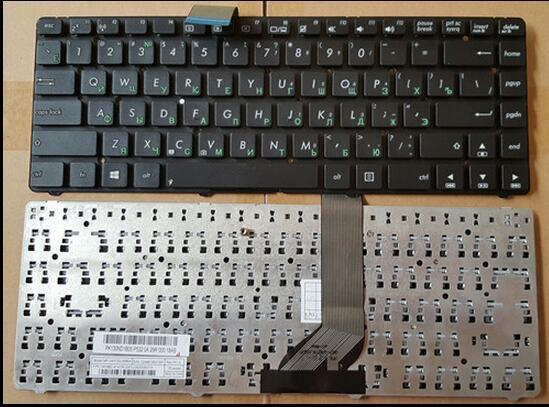 Ruso del teclado para asus k45a k45v k45vd k45vj k45vm k45vs k45vs ak46 s46 k46 e45 ru teclado negro
