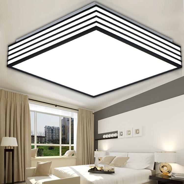 Modern Simple Led Ceiling Light AC90~260V Indoor Bedroom