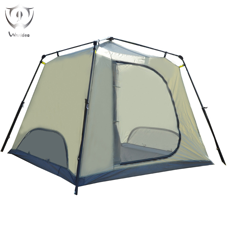 2018 Wnnideo Outdoor Tent Camping Climbing 3-4 People Four Season New professional camping gear 2 people outdoor 4 reason camping tent hiking climbing backpacking mountaineering tourism ultralight