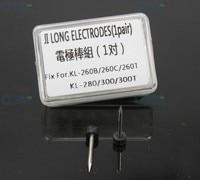 10Pairs/lot Optical Fiber Welding Machine ELECTRODES FOR FUSION SPLICER Jilong KL 280S ,KL 500,KL 510,KL 300T