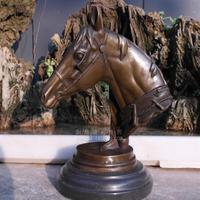 Старинные Бронзовые arts & Crafts Каннам лошадь украшения Зодиак талисман Медная скульптура производит аксессуары для дома подарок