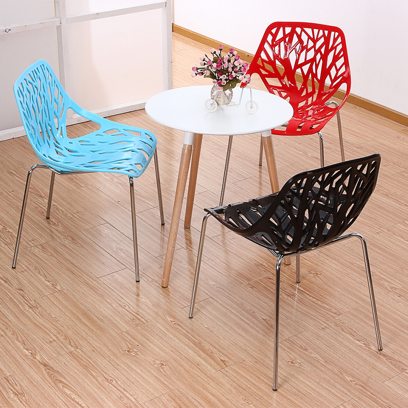3PC Simple Fashion Creative Leisure Negotiate Dining Plastic Contemporary Restaurant Moderne Stoel Chair Furniture vine sfere comter fashion leisure plastic creative office conference household cr free shipping