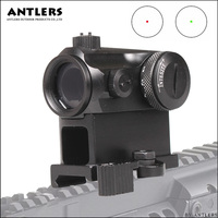 Mini 1X24 Rifle scope Sight luminated Sniper Red Green Dot Sight With Quick Release Red Dot Scope Mount For Hunting