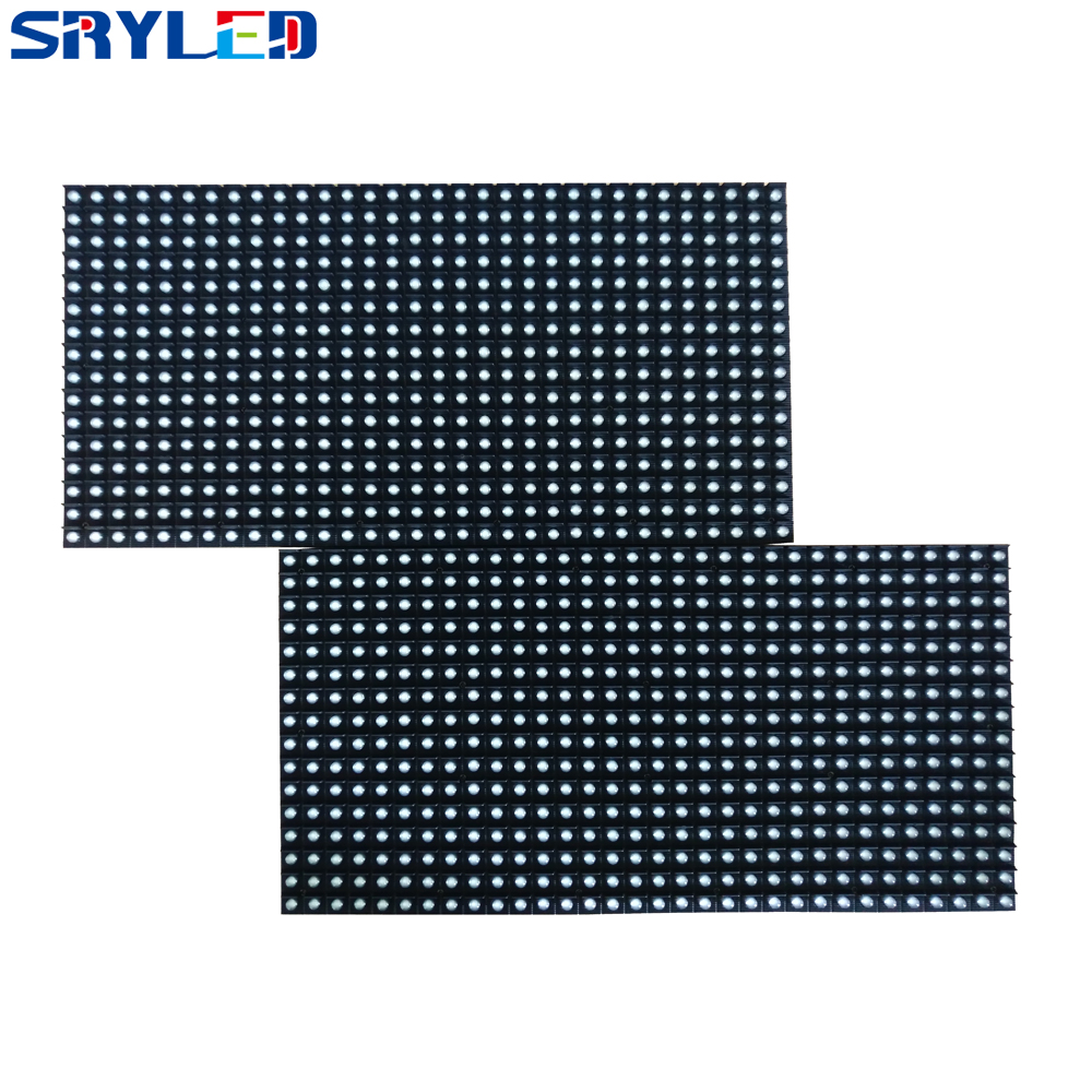 Outdoor P10 DIP Full Color LED Display Module 320*160MM , 1/4 Scan P10 Outdoor RGB DIP3in1 LED Module