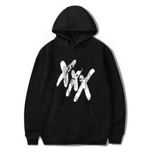fashion hip hop rapper hoodie Jahseh Dwayne Onfroy mens casual hooded sweatshirt Rip Xxxtentacion street