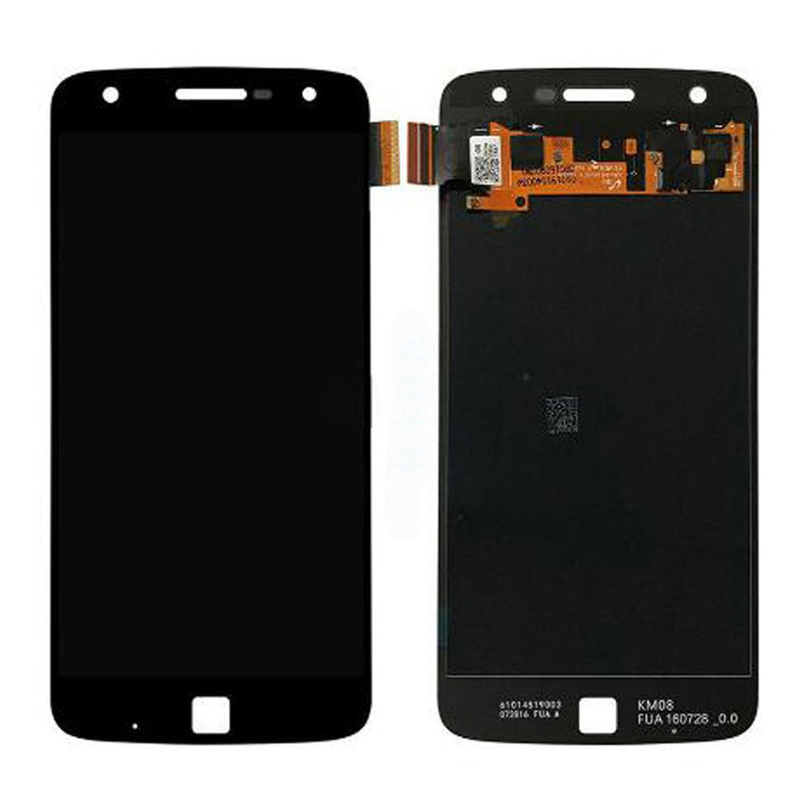 For Motorola Moto Z Play Droid <font><b>XT1635</b></font> LCD Display With Touch Screen Digitizer Assembly with frame free shipping image