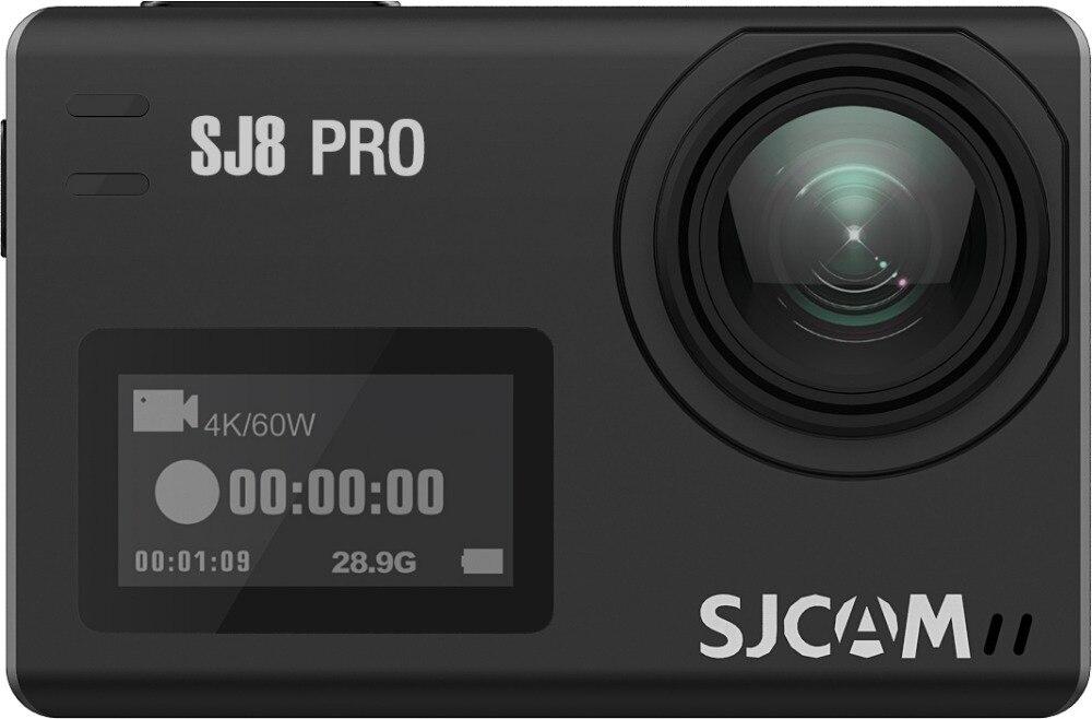 Original SJCAM SJ8 Pro Stabilizer Action Camera 4K Waterproof 8*Digital  Zoom Sport Action Cam WiFi Remote Video Camera HD DVR Ca