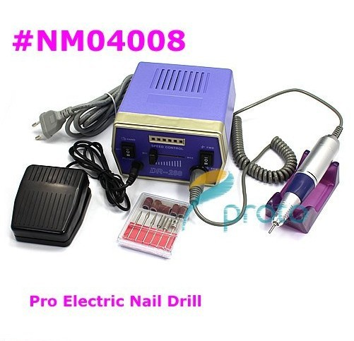 30000 RPM Professional Electric Nail Drill Bit Saning Machine Set Kit Manciure Pedicure Nail Tools Set Wholesales E0041