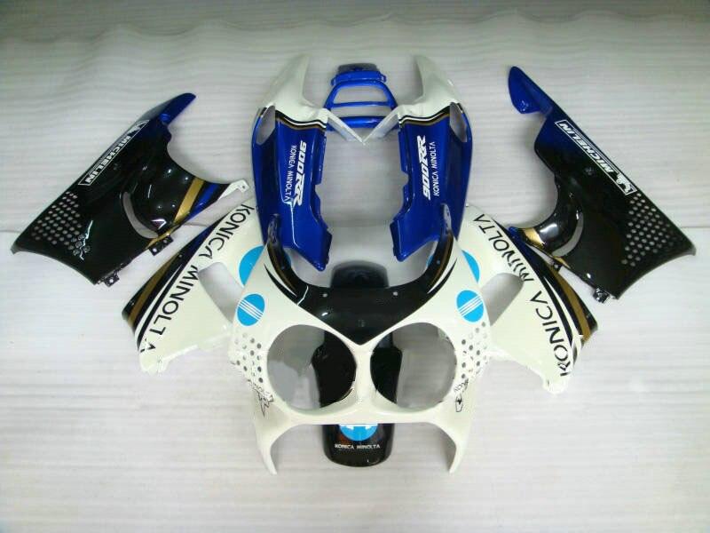 Carénage moto pour HONDA CBR900RR 893 91 92 93 94 95 CBR 900RR 1991 1995 ABS plastique blanc noir bleu carénages set cadeaux-Nn