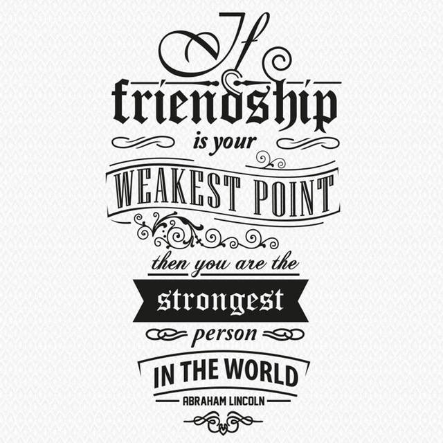 US $10 95 |QP 58 Motto Vinyl Wall Stickers Friendship Quotes Removable  House Decoration Quote Wall Sticker Home Decor-in Wall Stickers from Home &