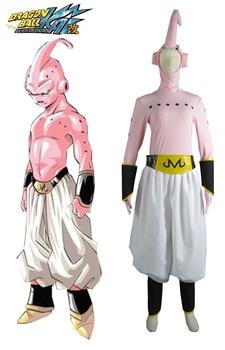Dragon Ball Z mal Majin Boo Cosplay Anime de uniforme