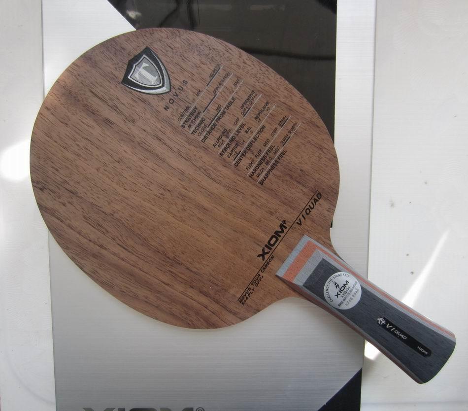 Оригинальный XIOM V1 QUAD настольный теннис лезвие ракетка спорт Настольный теннис ракетки Крытый спортивный углерода лезвие