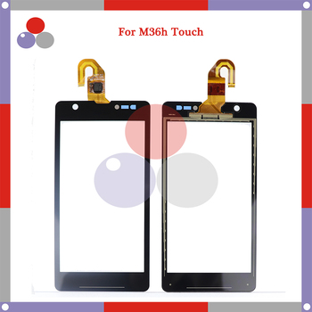 10pcs/lot High Quality For Sony Xperia ZR M36H C5503 C5502 Touch Screen Panel Sensor Digitizer Outer Glass Lens