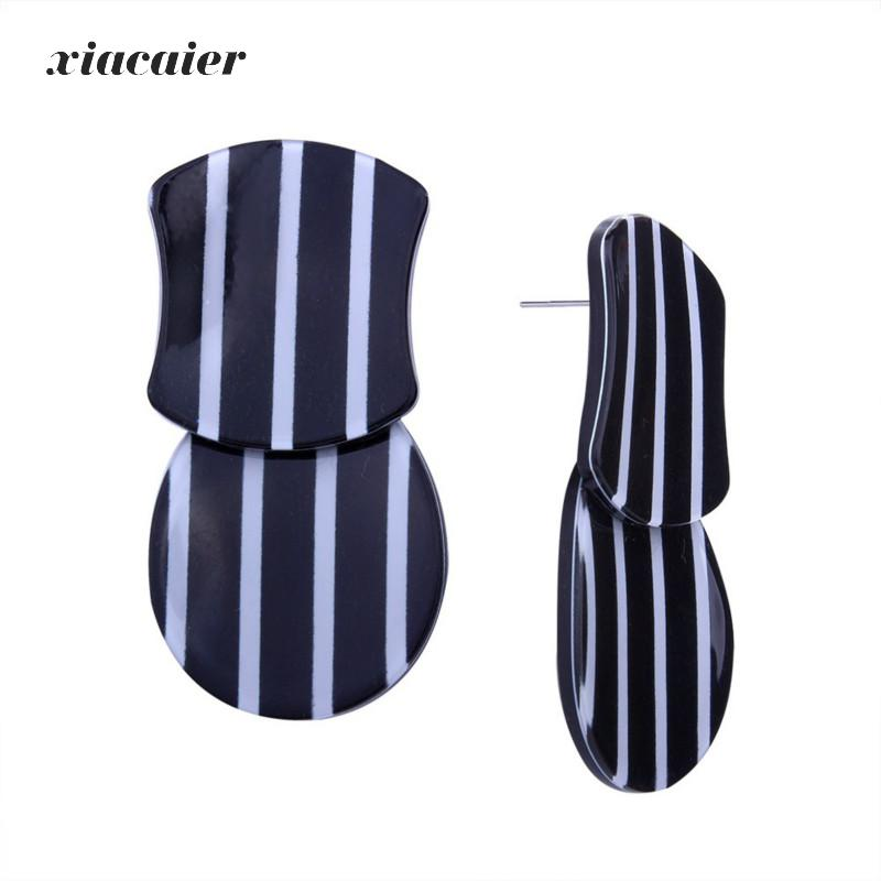 Xiacaier Ethnic Vintage Geometric Earrings For Women New Brincos Stud Earrings Female Hot Sale Fashion Statement Jewelry