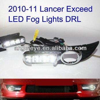 2010-2012 год Лансер превышать светодиодные Противотуманные фары СИД DRL дневного света В1