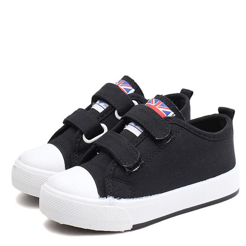 Fashion Kids Shoes For Girls Boys Children Canvas Casual Shoes Soft Boys Unisex School Shoes Sneakers 21-38