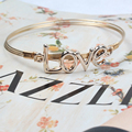 New Foreign Trade Bracelet Ring Retro Contracted Alloy Bracelet LOVE Fashion Bracelet H198