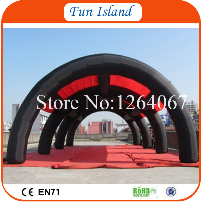 Free Shipping Giant Outdoot Inflatable Car Garage Shelter Arch Air Tent Inflatable Lawn Tent For Sale commercial sea inflatable blue water slide with pool and arch for kids