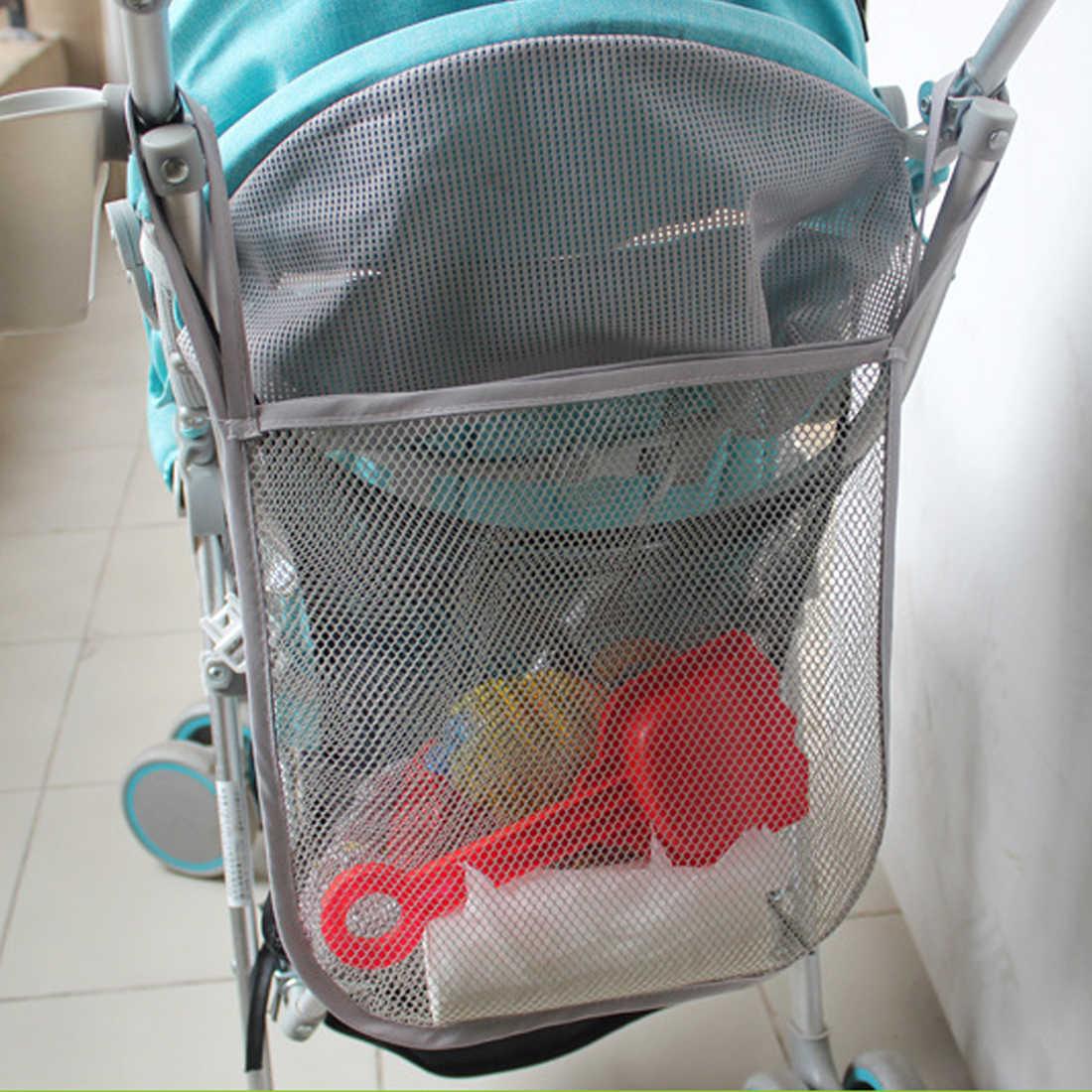 Размер: 30X30 см висит черная сетка висячая сумка бумажный подгузник Полотенца сумка для детской коляски универсальная сетка для хранения Bag1Home сетка для хранения сумка