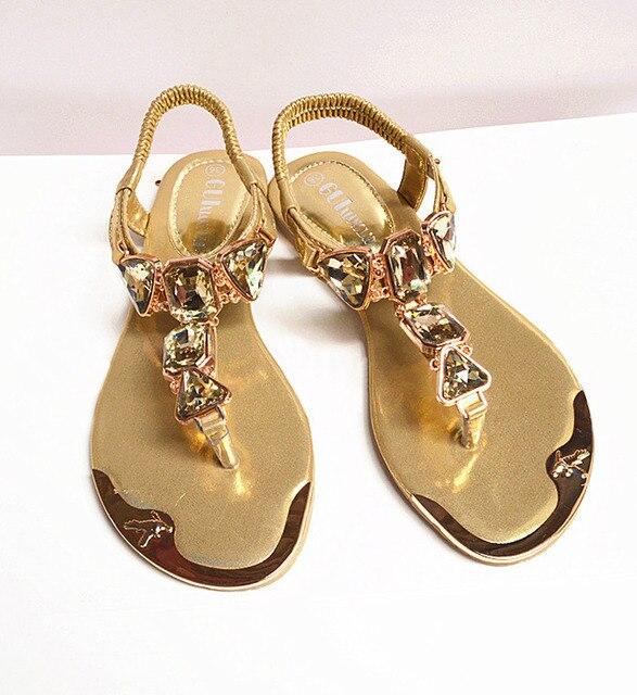 a2f9df7ed8b08 Shoes women sandals 2018 hot fashion rhinestone summer shoes women sandals  clip toe women shoes sandalia feminina