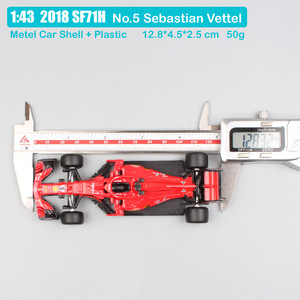 Image 5 - Kinder Maßstab 1:43 BBurago Racer RB15 SF71H SF90 Kimi Räikkönen Charles Leclerc Sebastian Vettel diecast modell fahrzeug auto spielzeug 2019