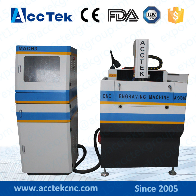 Mini Cnc Machine AK4040H Cnc Router/ T-slot Router Table/Semi-closed Heavy Duty Steel Structure