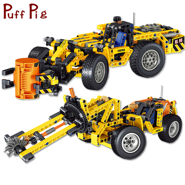 475pcs 2 In 1 Engineering Trucks City Construction Toys Vehicles Model Building Blocks Compatible Legoed Technic Bricks For Kids